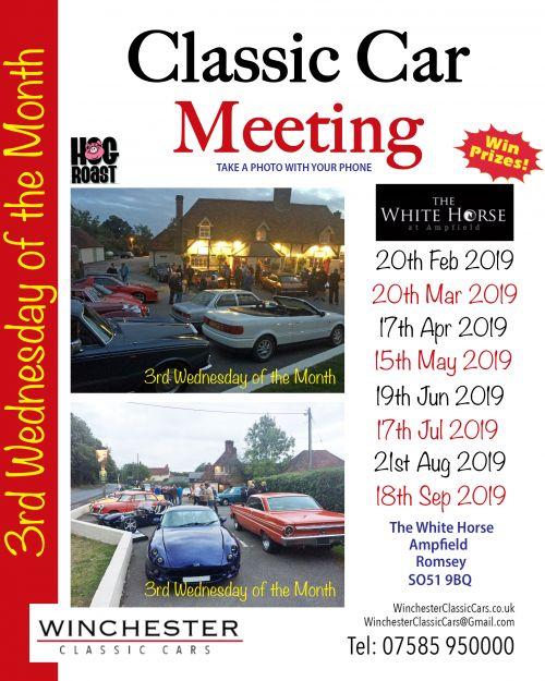 Classic car meetings 2019 dates