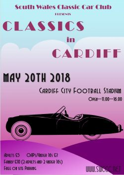 Classics in cardiff poster final 2018