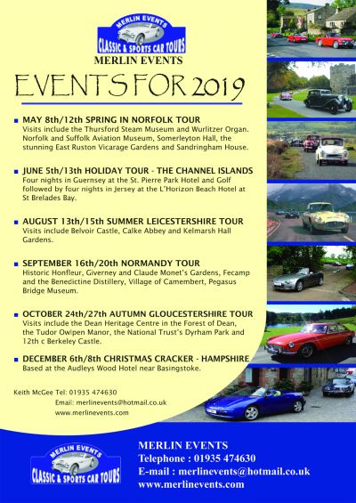 Merlin Events 2019
