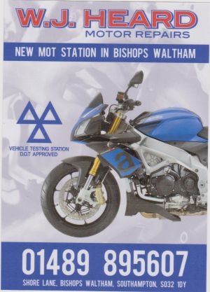 heard motor cycles mot